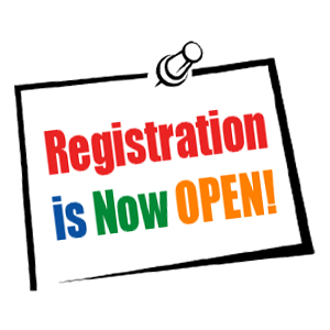 School Registration is now Open