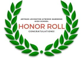Honor Roll - Quarter 2 and Semester 1