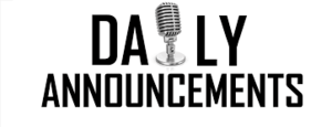 LGS Daily Announcements for 1/15/2020