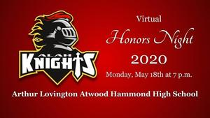 Virtual Honors Night