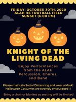 Knight of the Living Dead - Percussion, Chorus and Band to perform
