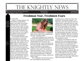 September Edition of The Knightly News