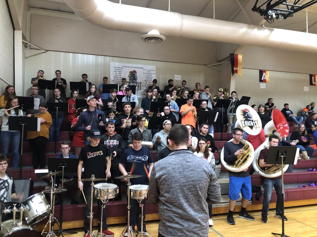 Pep band in full effect!  #GoKnights