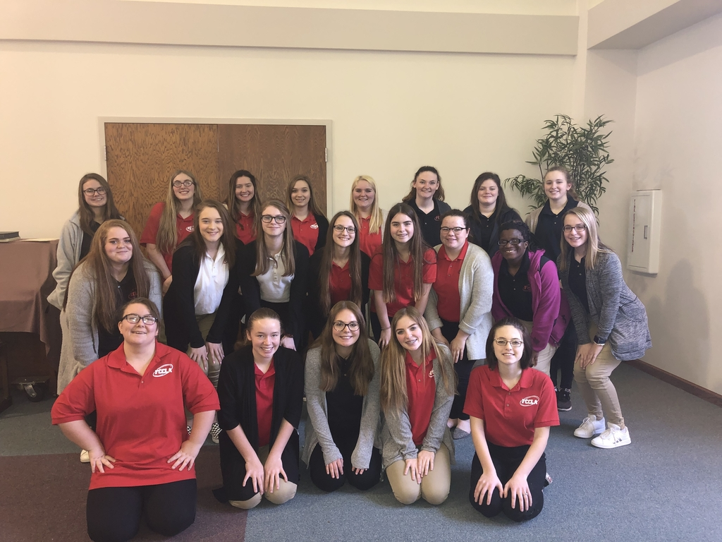 ALAH FCCLA members attended a conference today.