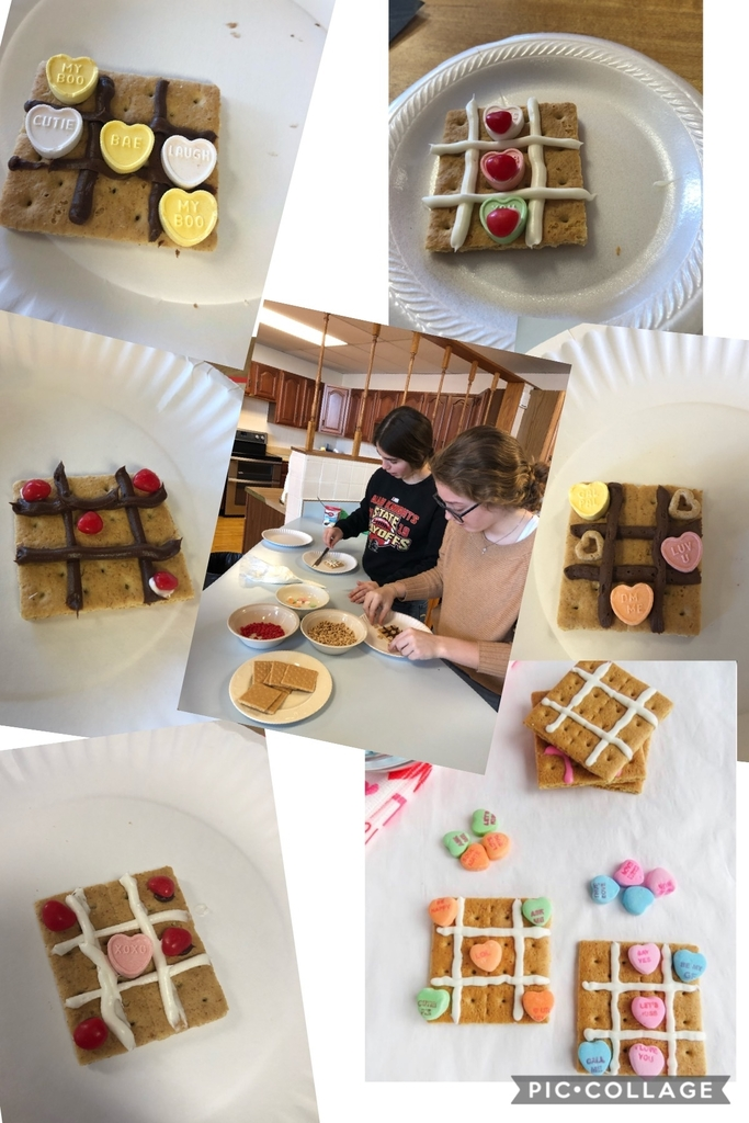 Valentine Food Art in FACS classes today