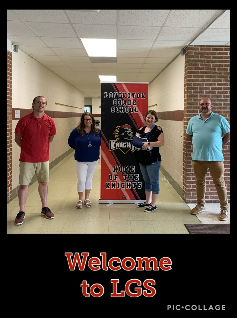 New faces joining LGS team. Ms. Pitts (4th grade), Ms. Wood (Elelm. Special Ed.), Mr. Campbell (JH ELA).